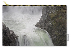 Carry-all Pouch featuring the photograph Roaring River by Randy Hall