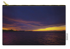 Roatan Sunset Carry-all Pouch by Stephen Anderson