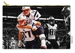 Rob Gronkowski And Tom Brady Carry-all Pouch