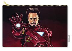 Robert Downey Jr. As Iron Man  Carry-all Pouch