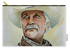 Robert Duvall As Augustus Mccrae In Lonesome Dove Carry-all Pouch by Jimmy Smith