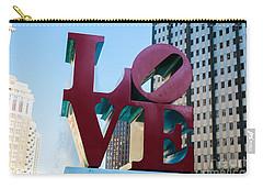 Robert Indiana Love Sculpture Carry-all Pouch