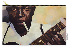 Robert Johnson Plays The Blues Carry-all Pouch by Dan Sproul