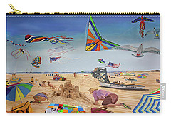 Robert Moses Beach Towel Version Carry-all Pouch