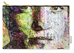 Robert Pattinson Carry-all Pouch by Svelby Art
