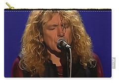Robert Plant 001 Carry-all Pouch by Sergey Lukashin