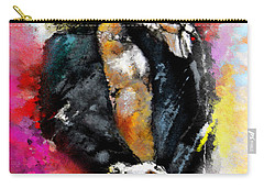 Robert Plant 03 Carry-all Pouch by Miki De Goodaboom