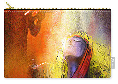 Robert Plant And Jimmy Page 02 Carry-all Pouch by Miki De Goodaboom