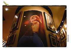 Robert Plant At The Hard Rock Carry-all Pouch by David Lee Thompson