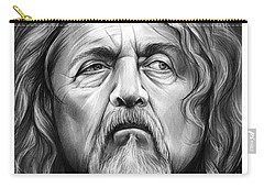 Robert Plant Carry-all Pouch by Greg Joens