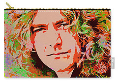 Robert Plant Carry-all Pouch by Sergey Lukashin
