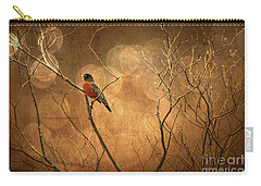 Robin Carry-all Pouch by Lois Bryan