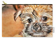 Carry-all Pouch featuring the photograph Robin by Mindy Newman