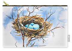 Robin's Nest Carry-all Pouch by Sam Sidders