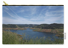 Robinson's Ferry Overlook  Carry-all Pouch by Sara Raber