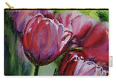 Rochelle's Springtime Tulips Carry-all Pouch