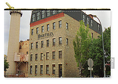 Rochester, New York - Smokestack 2005 Carry-all Pouch by Frank Romeo