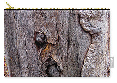 Carry-all Pouch featuring the photograph Rock And Harry by Marie Neder