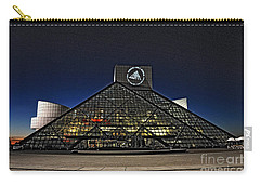 Carry-all Pouch featuring the photograph Rock And Roll Hall Of Fame - Cleveland Ohio - 5 by Mark Madere