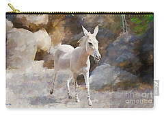 Carry-all Pouch featuring the painting Rock And Romp by Judy Kay