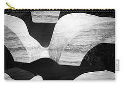 Rock And Shadow Carry-all Pouch