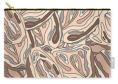 Rock Blob Pattern Carry-all Pouch