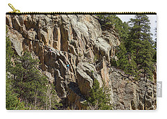 Carry-all Pouch featuring the photograph Rock Climbers Paradise by James BO Insogna
