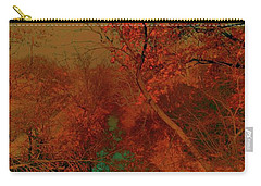 Carry-all Pouch featuring the photograph Rock Creek At M by EDi by Darlene