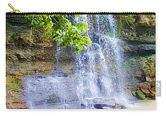 Carry-all Pouch featuring the photograph Rock Glen by Rodney Campbell
