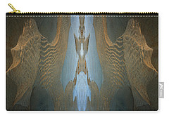Carry-all Pouch featuring the photograph Rock Gods Seabird Of Old Orchard by Nancy Griswold