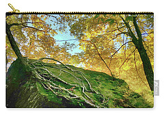 Carry-all Pouch featuring the photograph Rock Of Ages by Jeff Folger