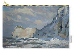 Rock Of Amont Etretat Carry-all Pouch