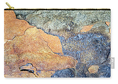 Carry-all Pouch featuring the photograph Rock Pattern by Christina Rollo