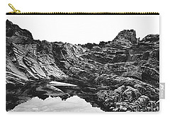 Carry-all Pouch featuring the photograph Rock by Rebecca Harman