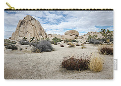 Carry-all Pouch featuring the photograph Rock Tower No.2 by Margaret Pitcher