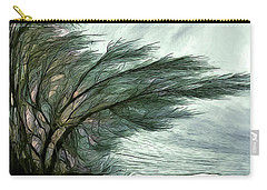 Carry-all Pouch featuring the photograph Rock Tunnel by Pennie  McCracken