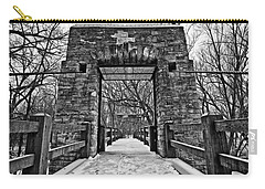 Rock Wood Steel Carry-all Pouch