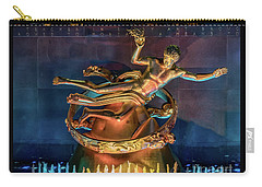 Rockefeller Bronze Carry-all Pouch