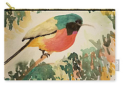 Rockefeller's Sunbird Carry-all Pouch by Maria Urso