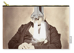 Rocket Away Your Gentleman Carry-all Pouch by Keshava Shukla