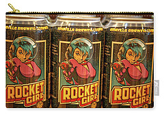 Rocket Girl Carry-all Pouch by Dennis Baswell