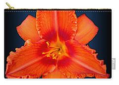 Rocket Orange Daylily Carry-all Pouch