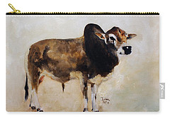 Rocket The Master Champion Herd Sire Miniature Zebu Carry-all Pouch