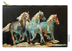 Rockin' Horses Carry-all Pouch