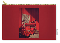 Carry-all Pouch featuring the photograph Rockin' Red by Jessica Brawley