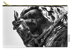 Carry-all Pouch featuring the photograph Rocking Horse by AJ Schibig