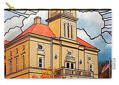 Rockingham County Courthouse Carry-all Pouch by Jim Harris