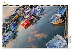 Carry-all Pouch featuring the photograph Rockport Harbor Motif #1  by Joann Vitali