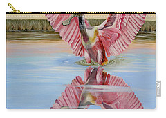 Rockport Roseate Spoonbill Carry-all Pouch
