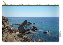 Rocks And Blue Carry-all Pouch
